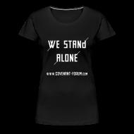 T-Shirts ~ Frauen Premium T-Shirt ~ We Stand Girlie (Front)