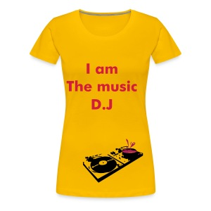 music D.J - Women's Premium T-Shirt