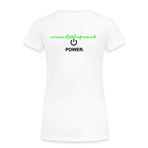 www.djsetup.co.uk - Women's Premium T-Shirt
