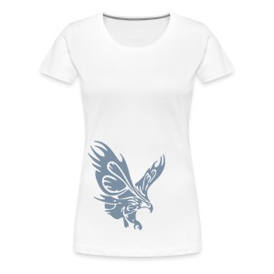 Female's Soaring Eagle (White) - Women's Premium T-Shirt