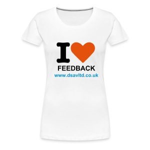 IloveFeedback_ladies - Women's Premium T-Shirt