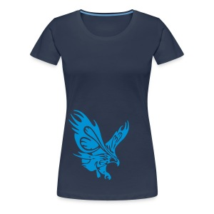 Female's Soaring Eagle (Navy) - Women's Premium T-Shirt
