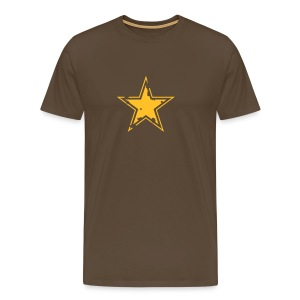 star distressed 2 - Men's Premium T-Shirt