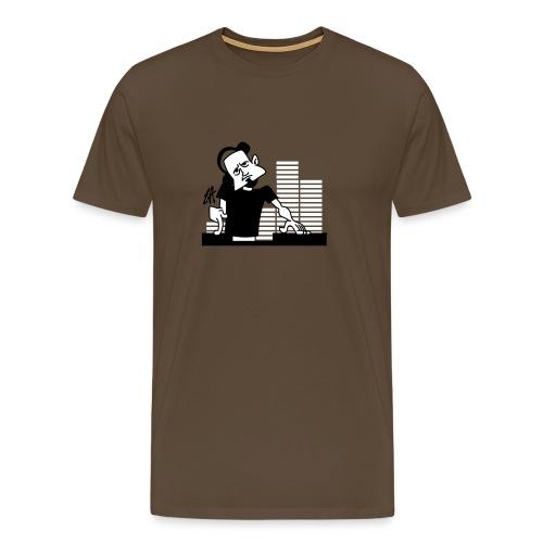 DJ EQ - Mannen Premium T-shirt