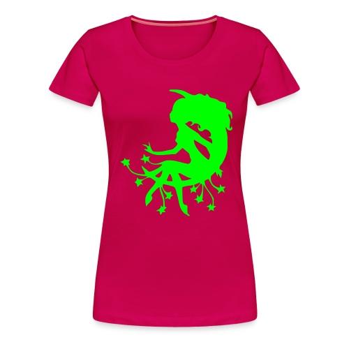 StarFairy - Neongrön - Flera färger - Premium-T-shirt dam