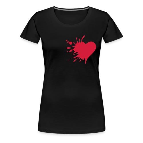 coeur 01 - T-shirt Premium Femme