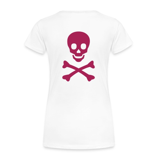 skull tee shirt - T-shirt Premium Femme