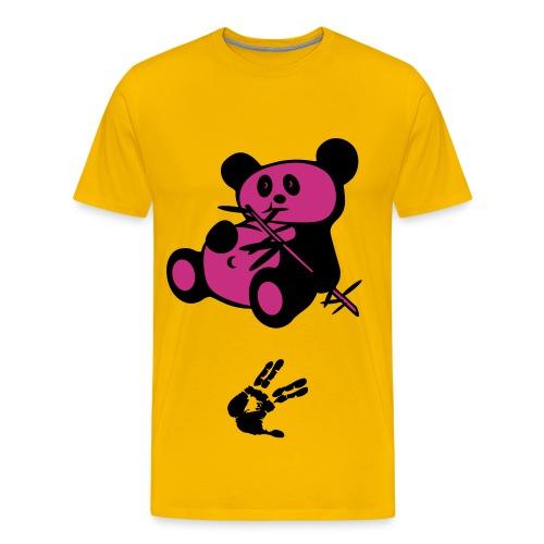 Twisted Panda - Premium T-skjorte for menn