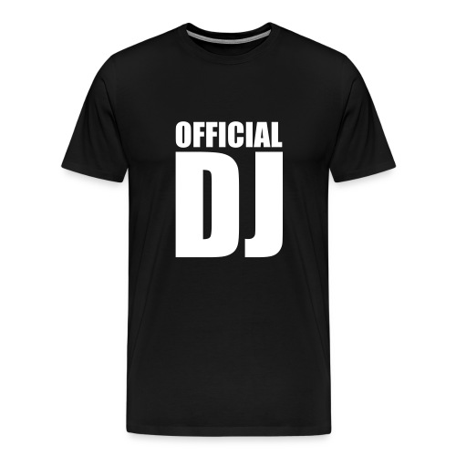 Offical DJ - Premium T-skjorte for menn