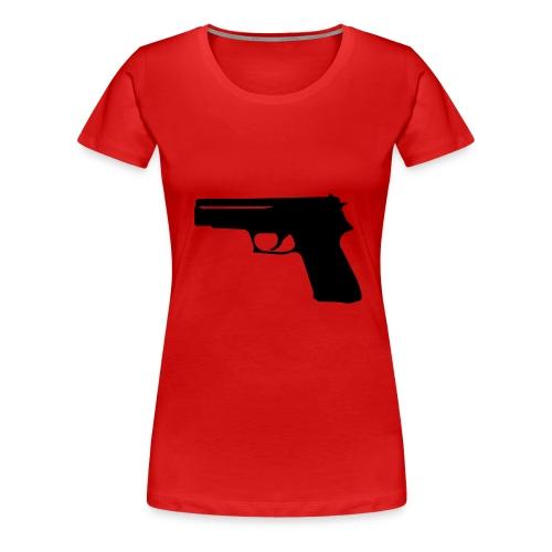 Hi 007 - Women's Premium T-Shirt