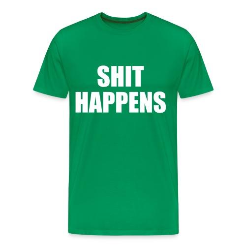 Shit Happen'z - Men's Premium T-Shirt