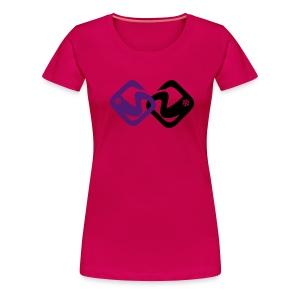 MC Snow-fr Recto - T-shirt Premium Femme
