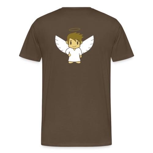 Engelsche2, Röggedrock Gold - Männer Premium T-Shirt