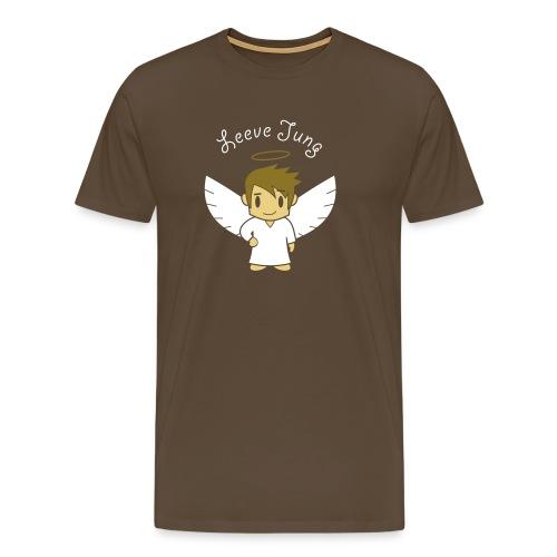 Engelsche2, Gold - Männer Premium T-Shirt