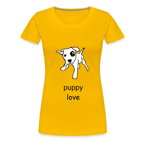 puppy love - Women's Premium T-Shirt