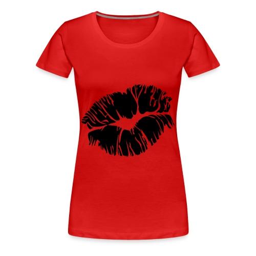 kiss my ass.rd - Women's Premium T-Shirt