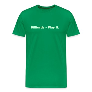 Play It (Glow in Dark) - Men's Premium T-Shirt