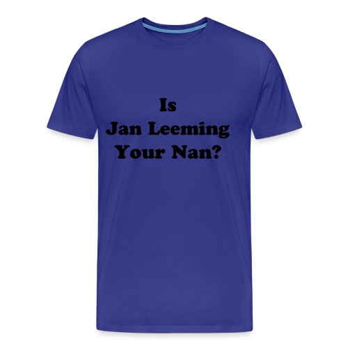 Jan Leeming - Men's Premium T-Shirt