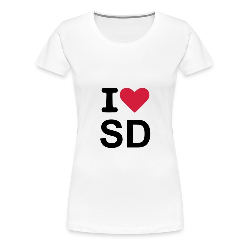 I L SD - Women's Premium T-Shirt