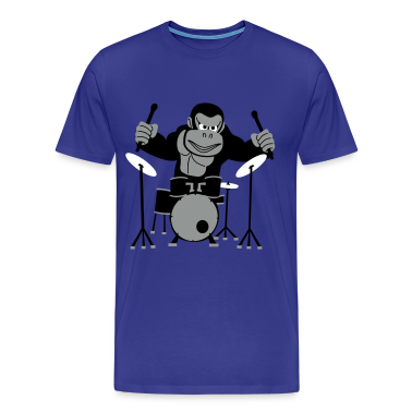 Drumming Gorilla T-Shirt