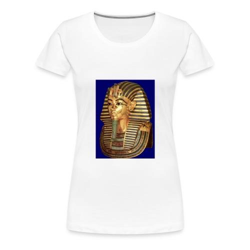 Ägypten Foto Shirt Tutanchamun - Frauen Premium T-Shirt