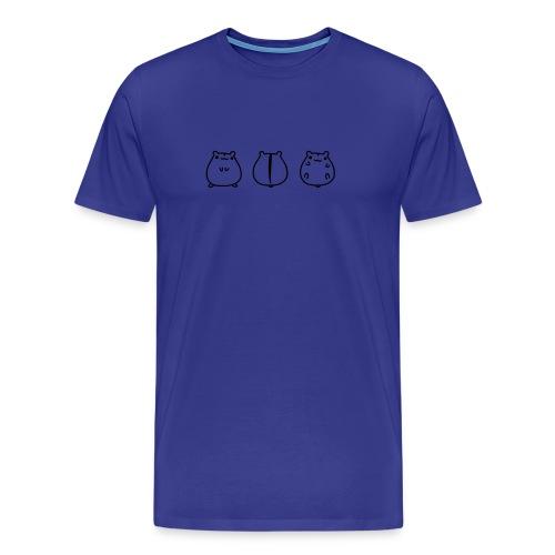 Hamstermami on Tour - Männer Premium T-Shirt