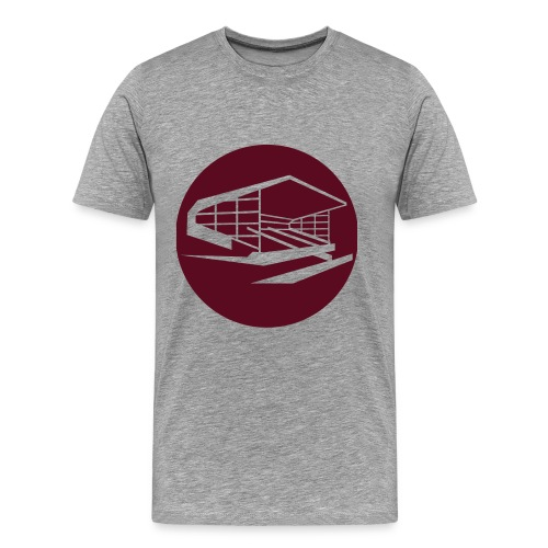 Old Show Ground - Claret - Men's Premium T-Shirt