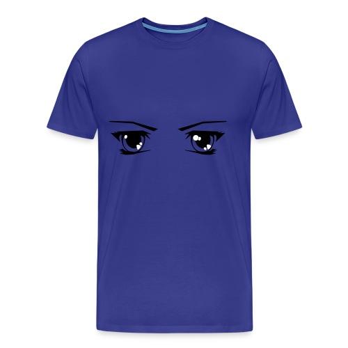 Manga eye's - Mannen Premium T-shirt