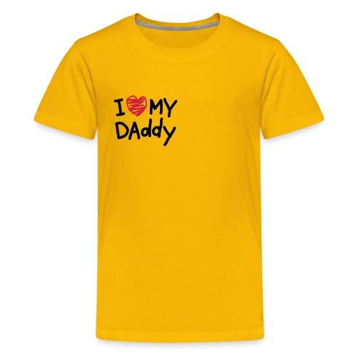 Camiseta unisex amarilla - Camiseta premium adolescente