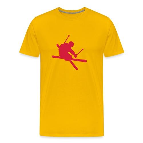 Free Ski - Männer Premium T-Shirt