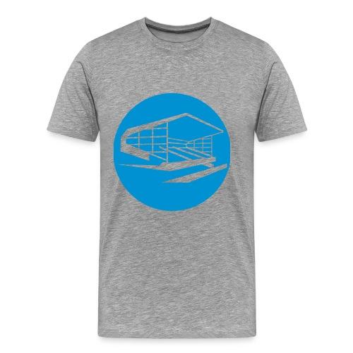 Old Show Ground - Blue - Men's Premium T-Shirt