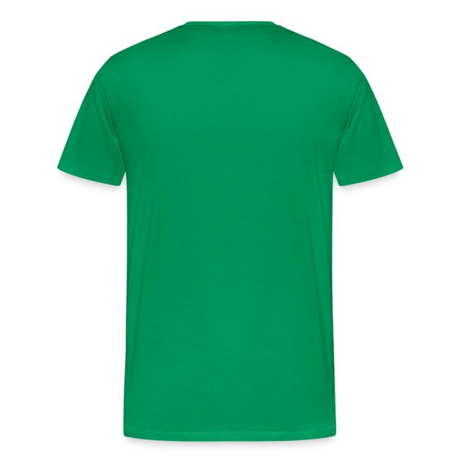 Strongbo Green Men's Slim Fit T-shirt