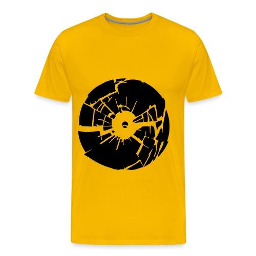 Vinyl - Premium-T-shirt herr