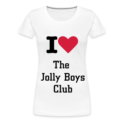I love the jolly boys T-Shirt - Women's Premium T-Shirt