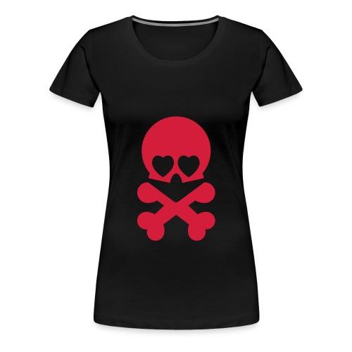T-shirt classique avec 3 motif - T-shirt Premium Femme