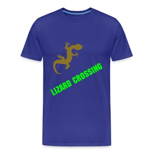 Lizard Crossing - Men's Premium T-Shirt
