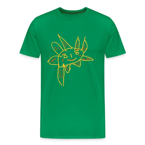 Lion's Sonne - Männer Premium T-Shirt