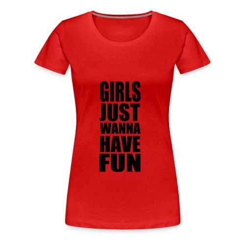 Funshirt - Frauen Premium T-Shirt