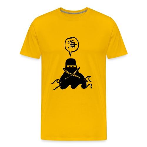 Zee Ninja - Mannen Premium T-shirt
