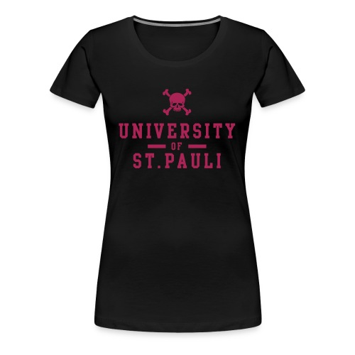 UNIVERSITY OF ST.Pauli - Frauen Premium T-Shirt