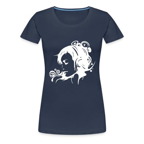 music - Frauen Premium T-Shirt