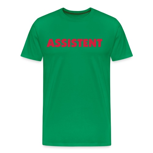 Assistent - Premium T-skjorte for menn