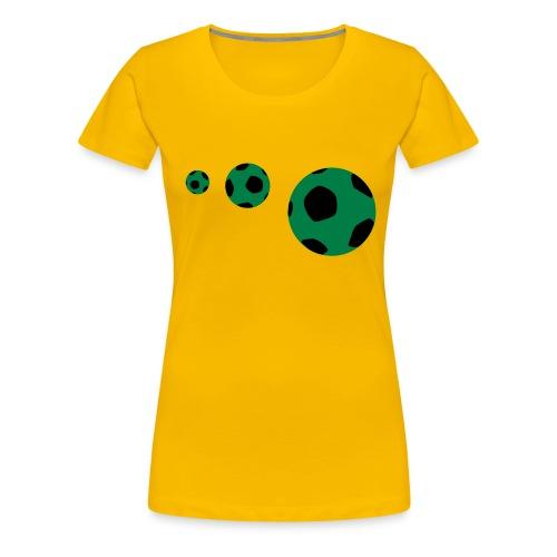 my football - Women's Premium T-Shirt