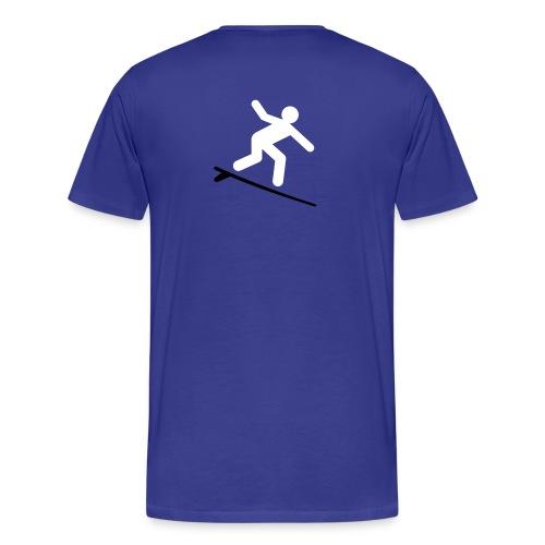 Slap the fat ride the ripple - Men's Premium T-Shirt