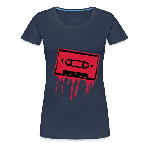 Blood Casette - Naisten premium t-paita