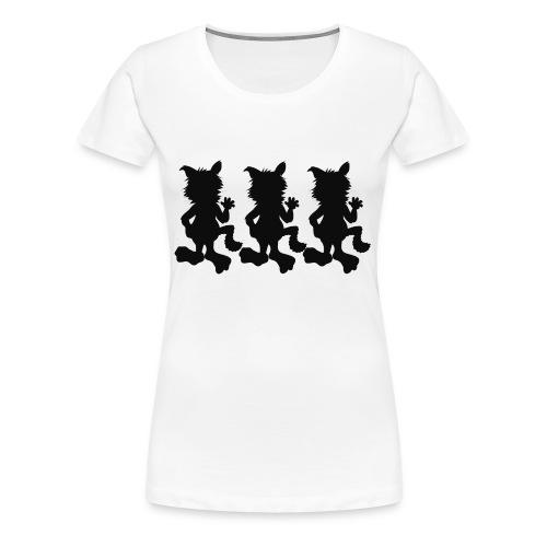 T-Shirt FANFÜCHSIN - Frauen Premium T-Shirt