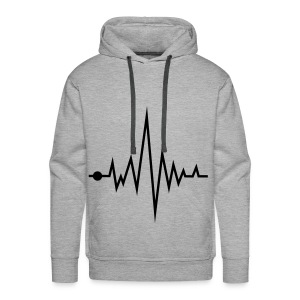 Sweater Music Maurijn - Mannen Premium hoodie