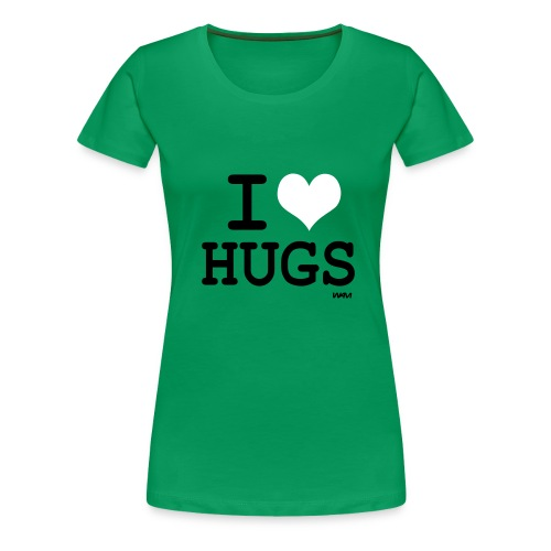 womens classic i love hugs - Women's Premium T-Shirt