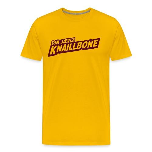 Din jævla knaillbone - Premium T-skjorte for menn