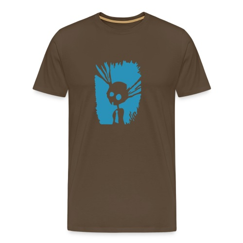 Crazy Rabbit - Männer Premium T-Shirt